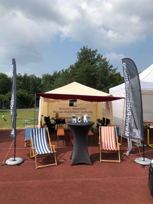 Läufer-Lounge der Marvin-Puchmeier-Stiftung